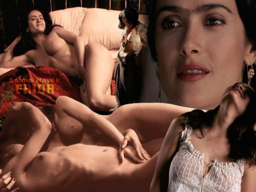 PHOTOS Salma Hayek pose seins nus dans Allure